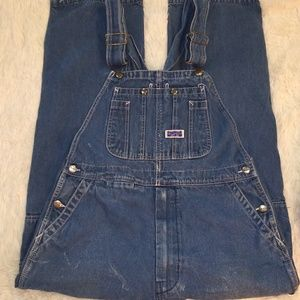 36x32 Big Smith Overalls naturally distressed